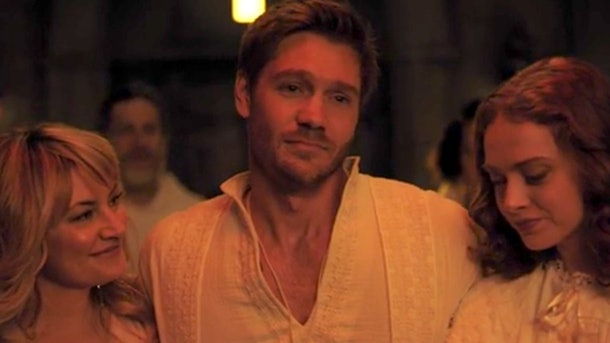 Chad Michael Murray as Edgar Evernever, leader of The Farm cult, in 'Riverdale'