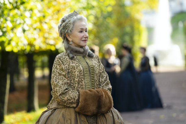 Helen Mirren as Catherine The Great