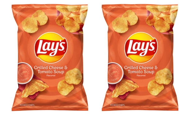 Lay's Grilled Cheese & Tomato Soup-flavored chips are coming Oct. 21.