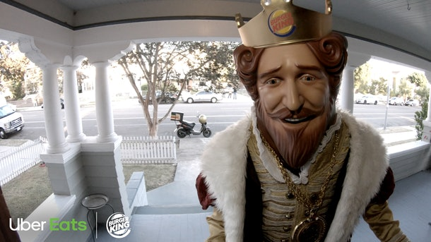 Burger King delivery with Uber Eats is finally here.