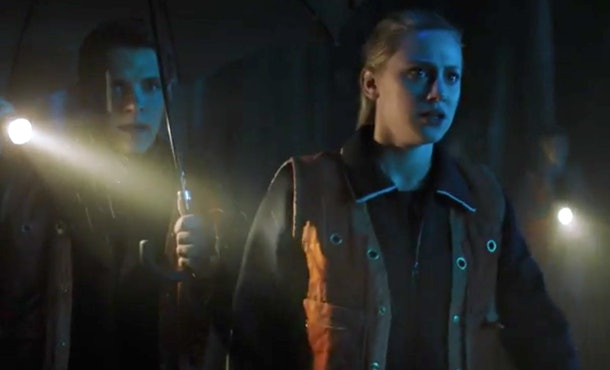 Betty and Kevin look for a missing Jughead on 'Riverdale'