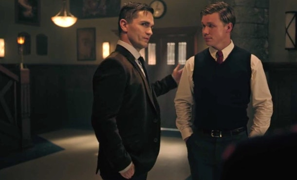 Mr. Chipping and Brett Weston Wallace on 'Riverdale'