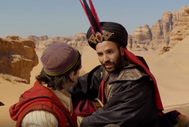 Jafar's look for Halloween 2019 'Aladdin' costumes for adults