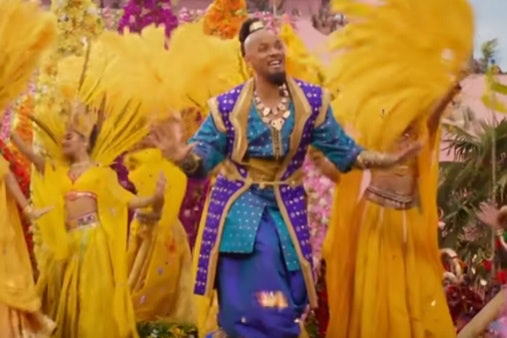 Genie, for Halloween 2019 'Aladdin' costumes for adults