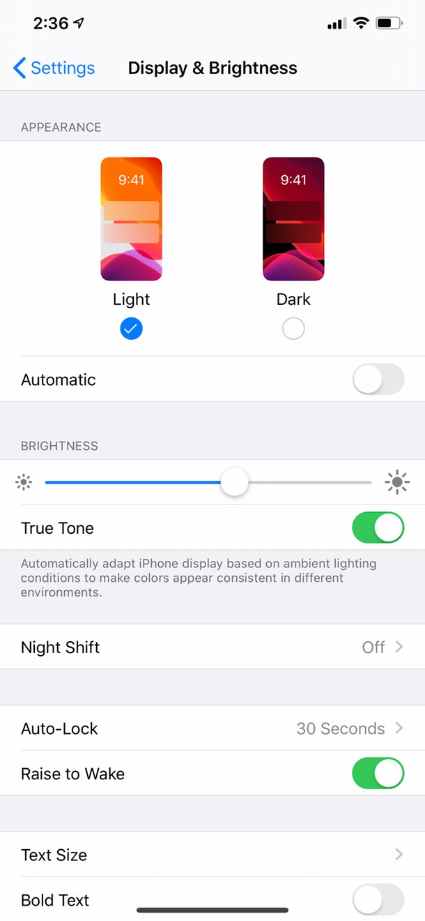 How to turn off Instagram Dark Mode with iPhone iOS 13.