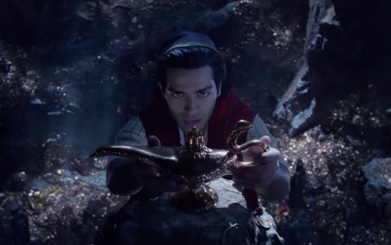 Aladdin in the live-action movie