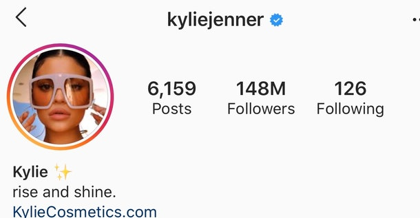 "Kylie Jenner changes Instagram bio to ""Rise and Shine"" after viral singing moment"