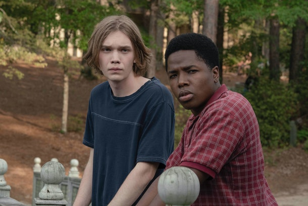 Miles and the Colonel in 'Looking For Alaska'