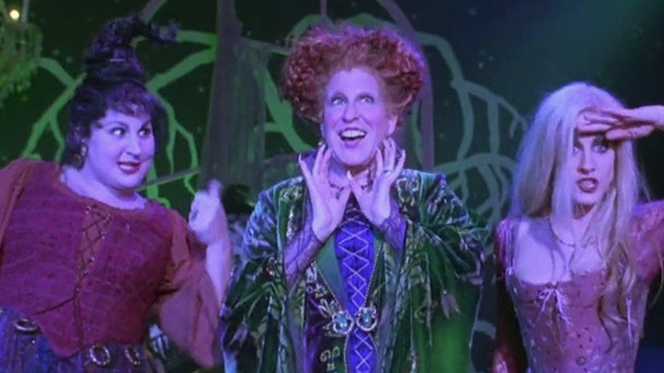 The Sanderson sisters from 'Hocus Pocus' would make a great Disney group costume for Halloween.