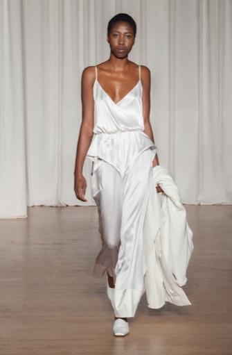 Turner's Vegas bridal jumpsuit is a must for this Sophie Turner and Joe Jonas Couples Halloween Costume Idea
