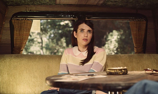 Emma Roberts as Brooke Thompson in 'American Horror Story: 1984'