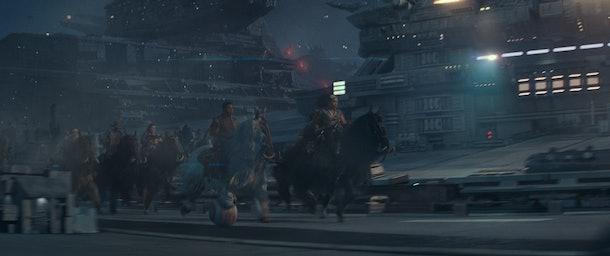 Screenshot from Star Wars: The Rise of Skywalker trailer