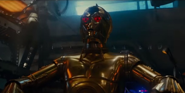 C-3P0, Creepy Red Eyed Droid