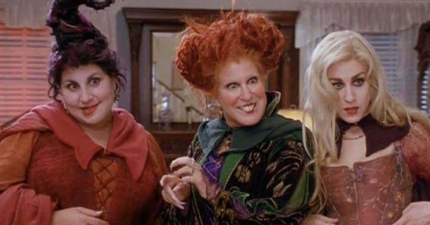 Still from the 1993 film Hocus Pocus