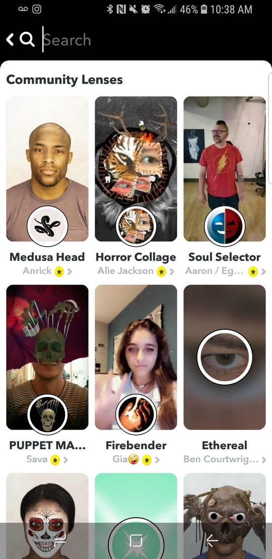 Snapchat's Halloween 2019 Lenses are available in the Lens Explorer.