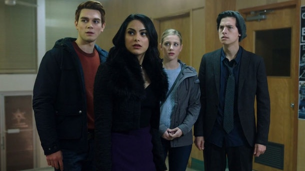 Archie, Veronica, Betty, and Jughead in 'Riverdale'