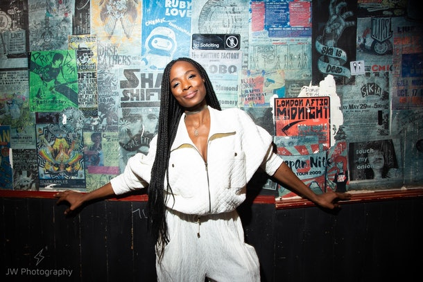 """Comedian Sydnee Washington is the host of """"Ghost Stories"""" — a Hinge podcast about ghosting."""