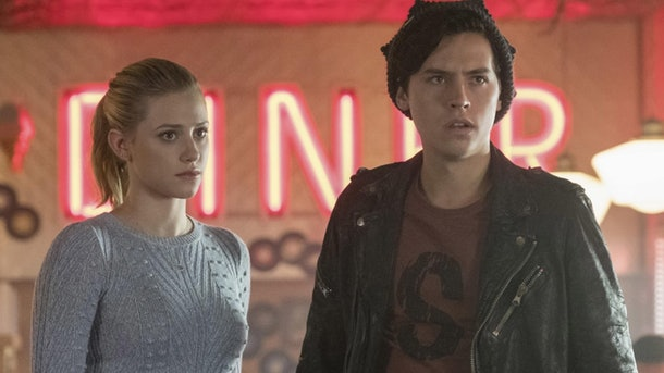 Betty and Jughead on 'Riverdale'