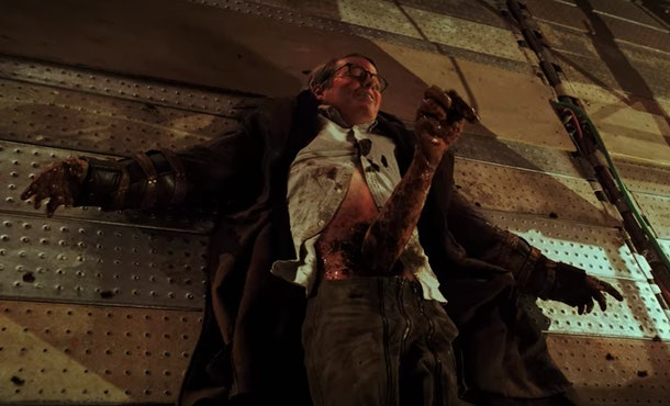Matthew Broderick plays Principal Burr aka Baron Triumph on 'Daybreak'