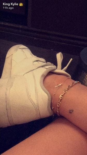 Kylie Jenner shares matching heart tattoo with Travis Scott