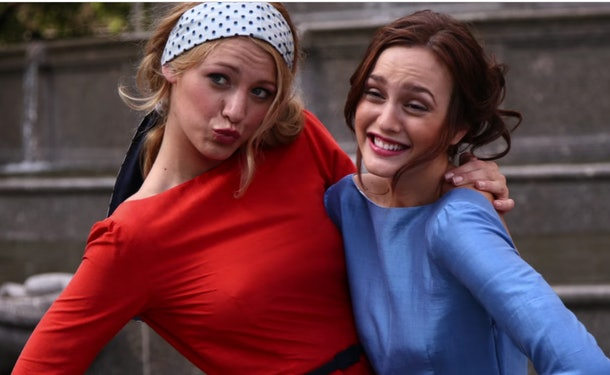 Serena and Blair in 'Gossip Girl'