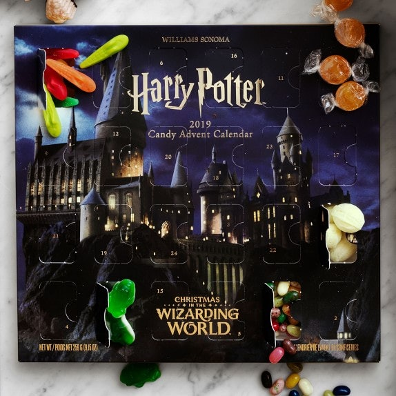 This Harry Potter Advent Calendar from Williams Sonoma is full of Harry Potter candies you've been dying to try.