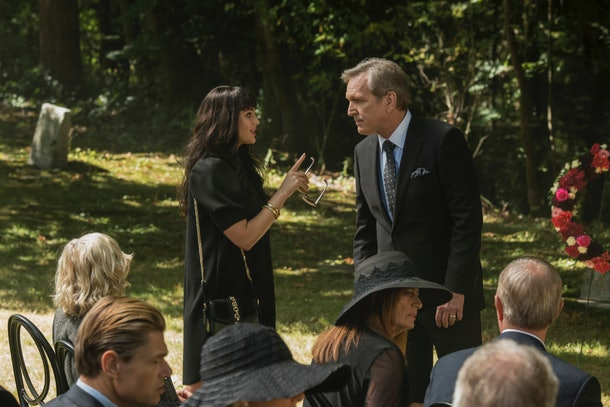 Tiffany Hudson's funeral on The CW's 'Nancy Drew'
