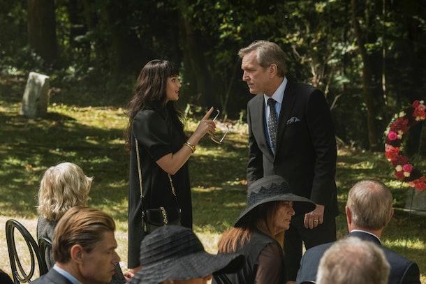 Tiffany Hudson's funeral on The CW's 'Nancy Drew'