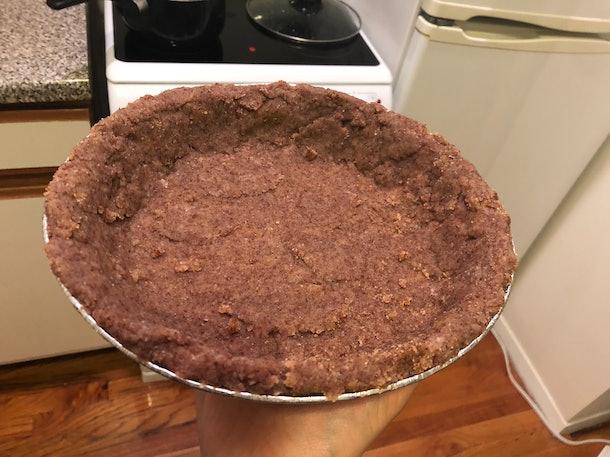 gluten-free pumpkin pie crust
