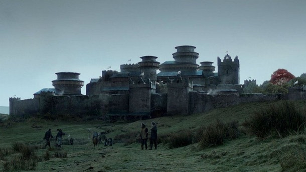 Winterfell in Game of Thrones