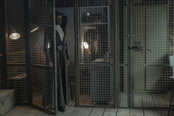 Regina King as Sister Night in Watchmen