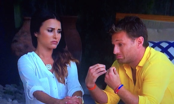 Andi Dorfman and Juan Pablo on 'The Bachelor'