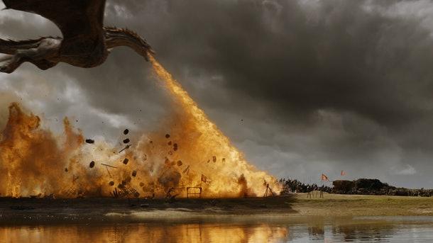 The Field of Fire from Game of Thrones