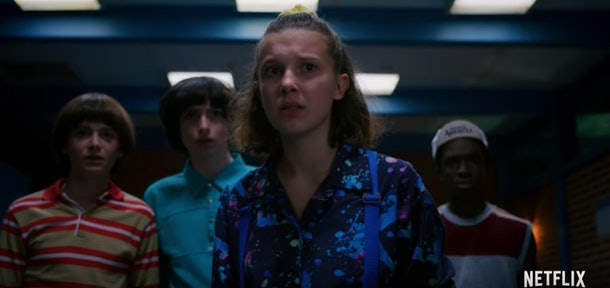 Eleven and Mike From Stranger Things