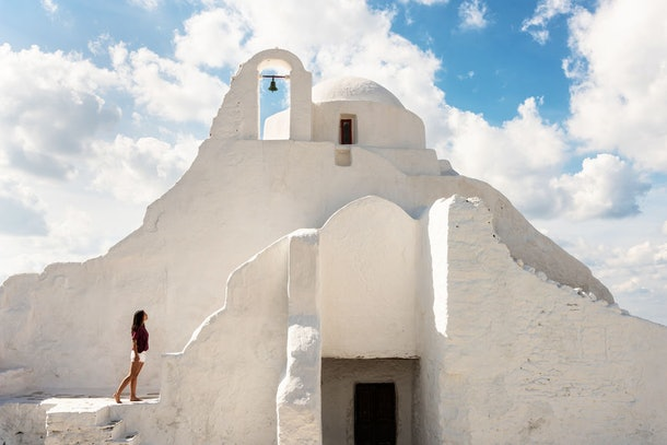 This Unforgettable Greece Instagram Contest includes stops in Mykonos and Santorini.