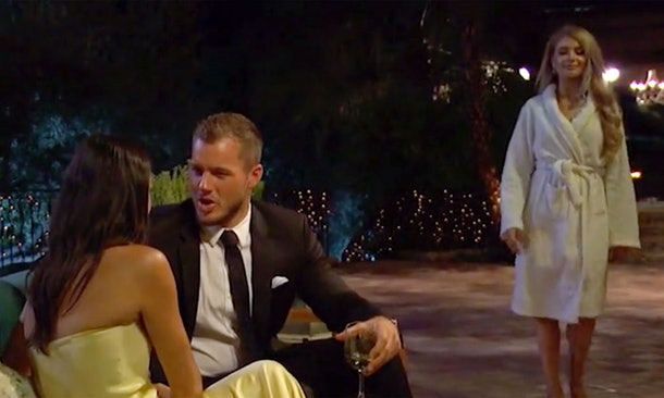 Colton Underwood group date during 'The Bachelor'