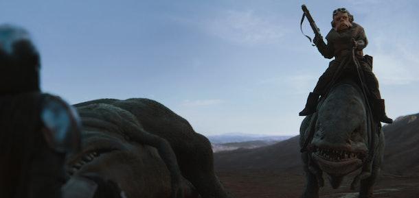 Screenshot from The Mandalorian