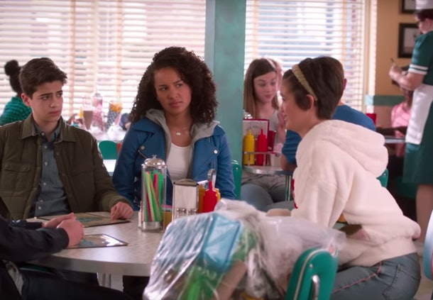 "Clip from 'Andi Mack' episode ""One Girl's Trash"""