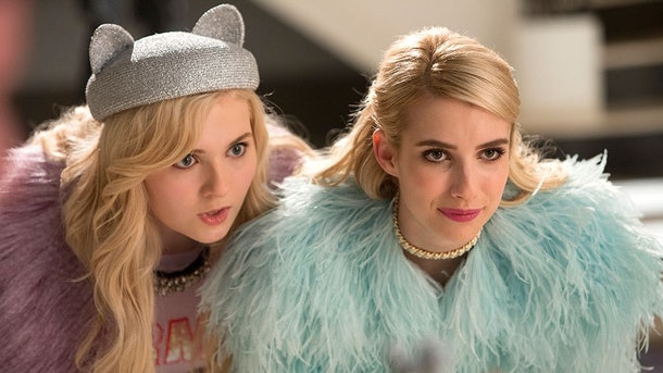 Emma Roberts and Abigail Breslin starred on 'Scream Queens.'