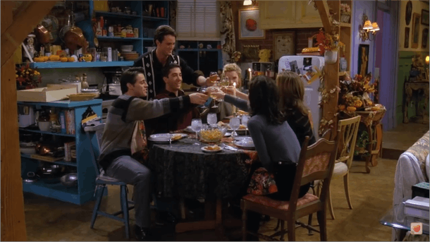 Friends Thanksgiving episode, Season 1