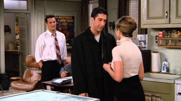 'Friends' Thanksgiving episode, Season 2
