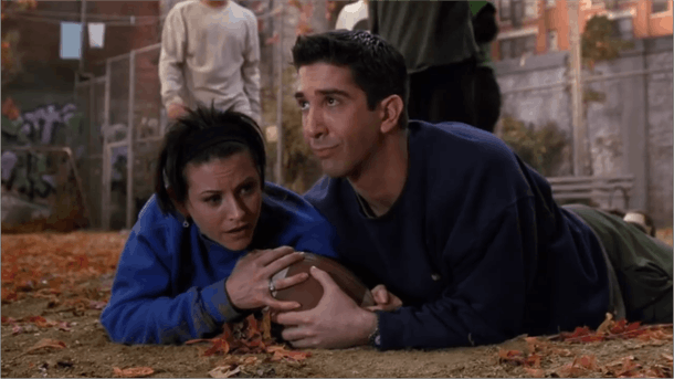 'Friends' Thanksgiving episode, Season 3