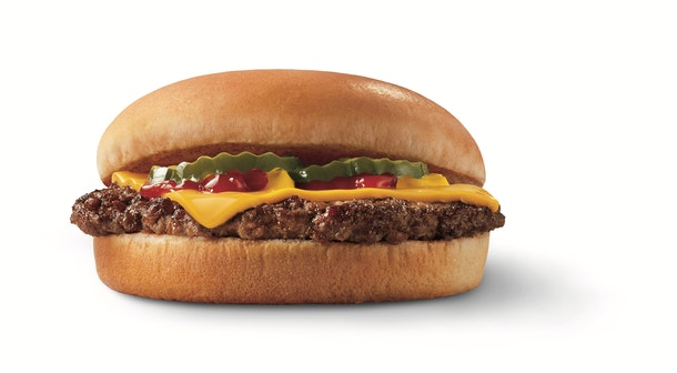 Dairy Queen's 2 for $4 Super Snack Deal Cheeseburger
