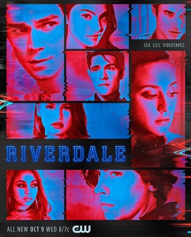 The 'Riverdale' Season 4 poster hinted that video tapes would be a major part of the season.