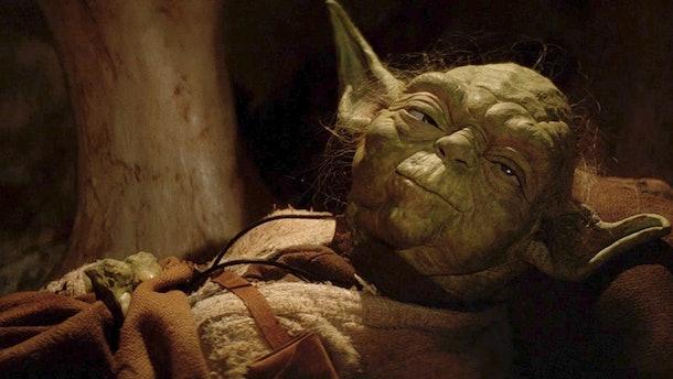 Yoda in Return of the Jedi