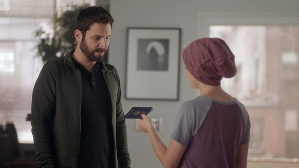 Gary (James Roday) and Maggie (Allison Miller) on 'A Million Little Things'