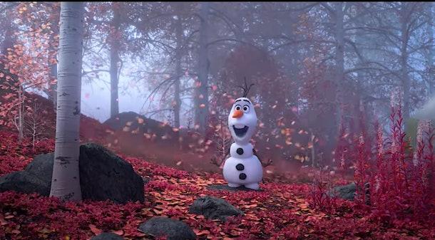 Olaf in 'Frozen 2'