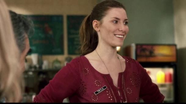Sarah Levy as Twyla on 'Schitt's Creek'