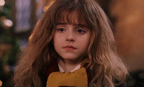 Emma Watson initially did not want to audition to play Hermione Granger in the 'Harry Potter' movies.