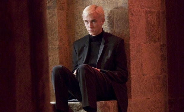 Tom Felton auditioned for Harry and Ron before getting cast as Draco Malfoy.